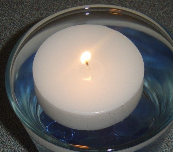 "2.5"" Floating Puck Candle: Starting at $1.00 each"