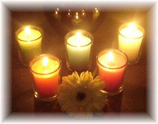 Votive Candles:  Starting at $1.00 each (glass holders not included)