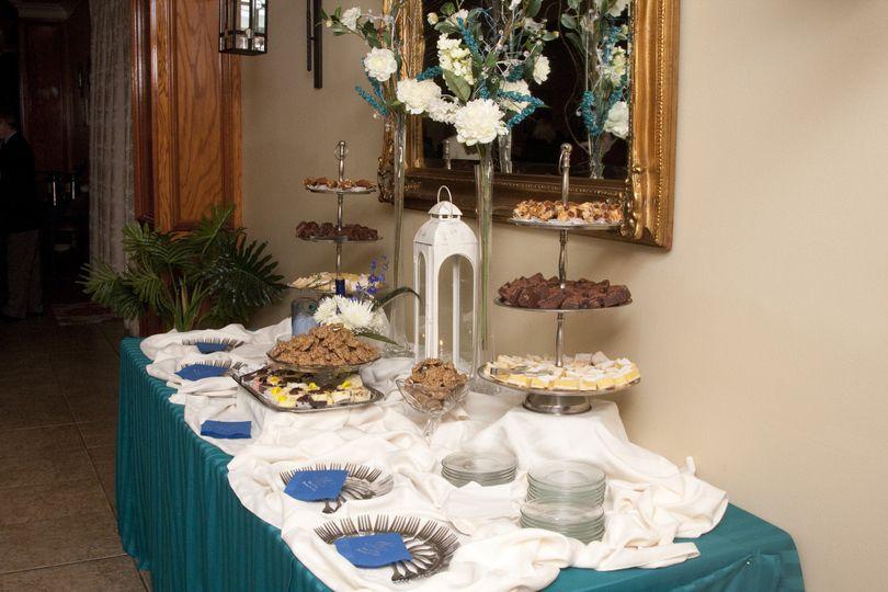 Oak Lodge Bienville Room Dessert Station
