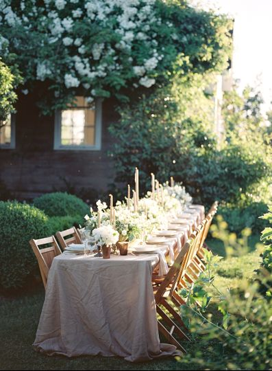 Indoor or outdoor weddings and receptions are stunning in our rose garden and lush grounds...