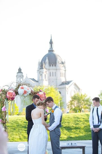 Perfect Spring Ceremony  Photo Credit: Megan Norman Photography