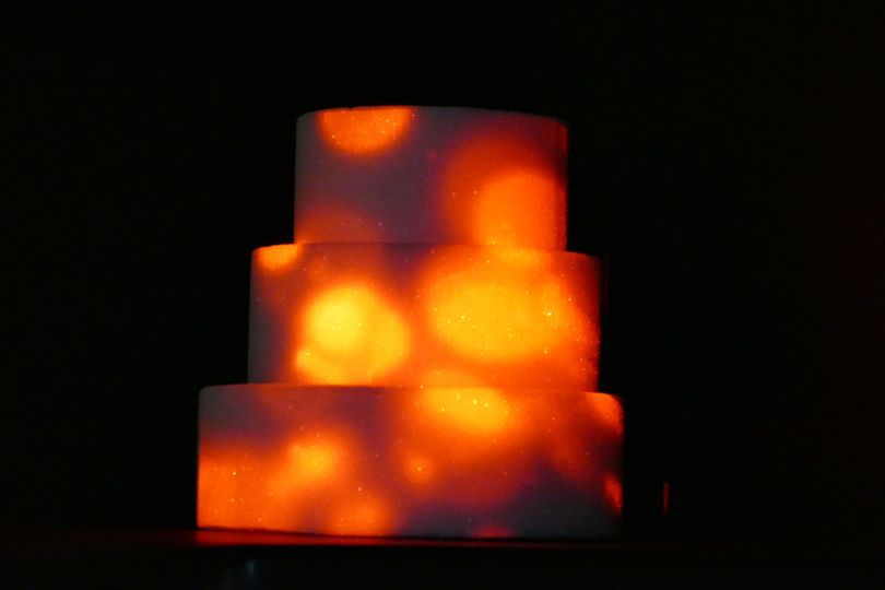 Projection Mapping onto a cake