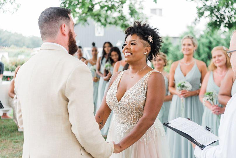 Wedding ceremony - Crystal Artis Photography