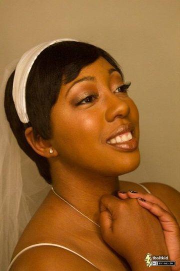Gigi makes one beautiful bride.