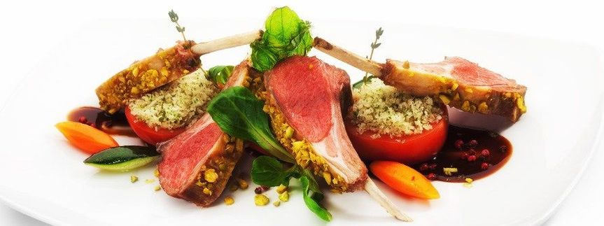 Dijon Crusted Rack of Lamb