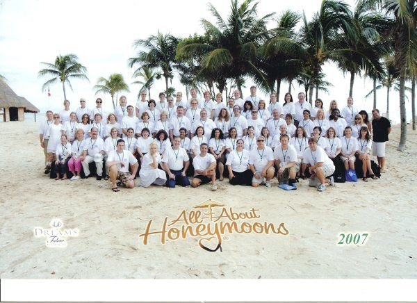 Here we are in Tulum, Mexico for our annual All About Honeymoons convention!