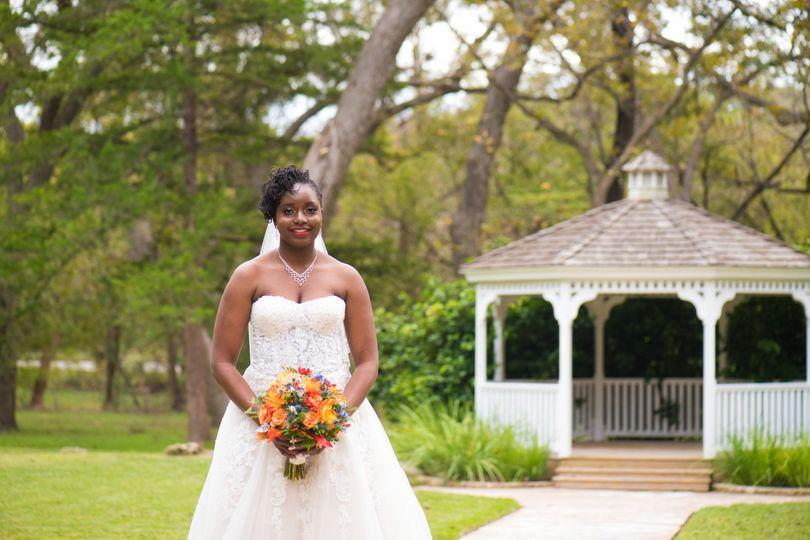 A breathtaking bride