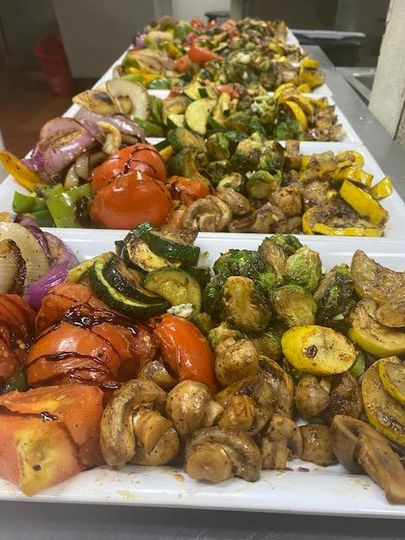 Family-style grilled vegetable