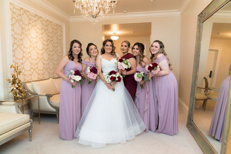 Bridal Party in The Suites