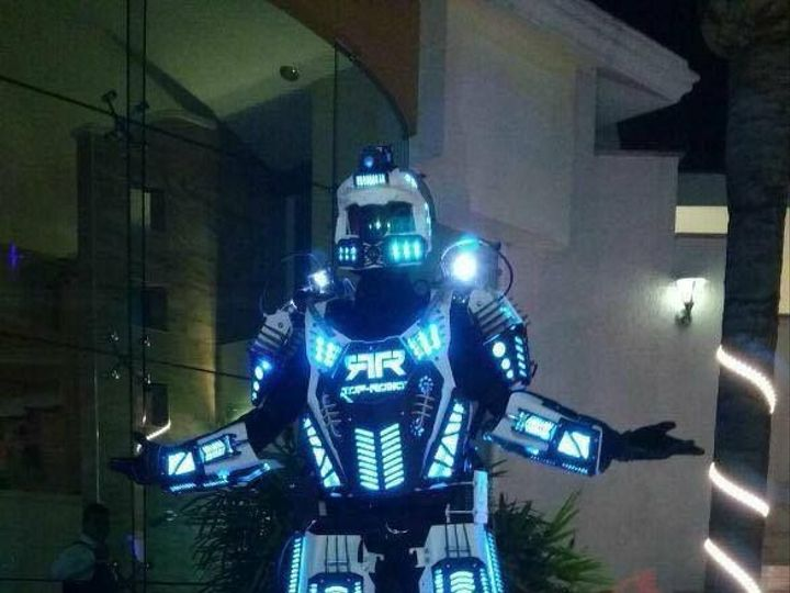 Tmx Led Robot 51 925853 158188960054048 Scotch Plains, NJ wedding dj