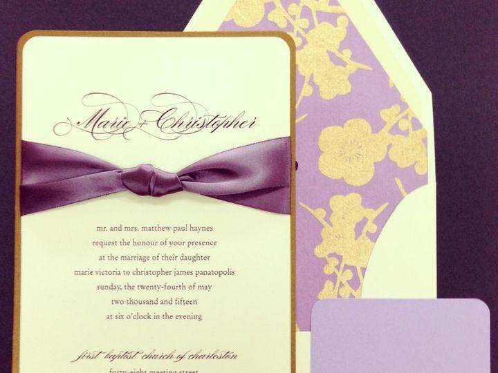 Tmx 1383164550178 K Palm Harbor, Florida wedding invitation