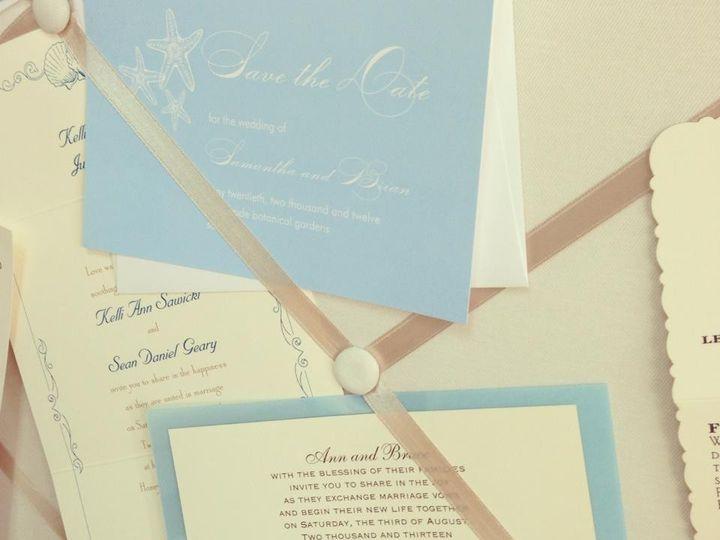 Tmx 1383164556287 K Palm Harbor, Florida wedding invitation