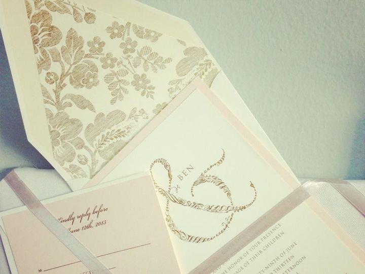 Tmx 1383164559441 K Palm Harbor, Florida wedding invitation