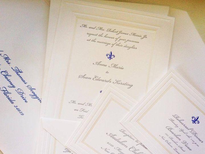 Tmx 1400094949577 K Palm Harbor, Florida wedding invitation