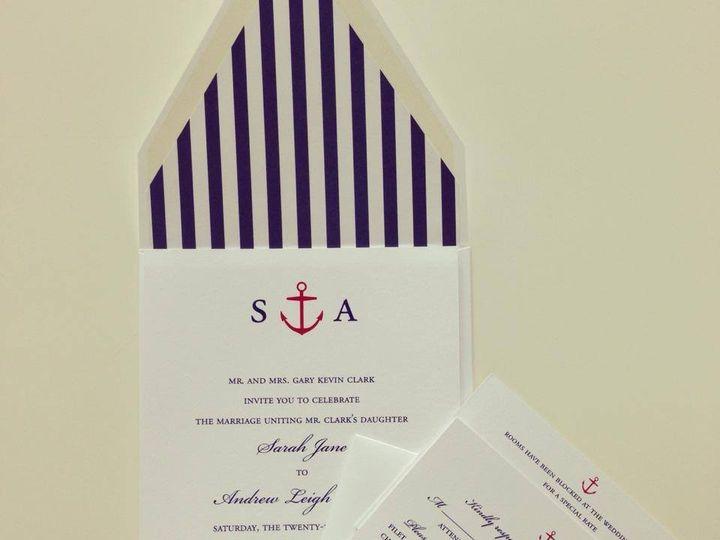 Tmx 1400094954074 K Palm Harbor, Florida wedding invitation