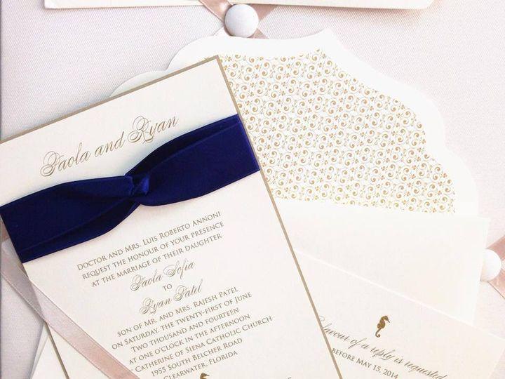 Tmx 1401815842191 Sandpearl Palm Harbor, Florida wedding invitation