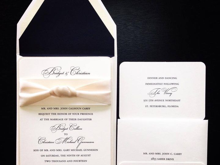 Tmx 1413482915791 K5 Palm Harbor, Florida wedding invitation