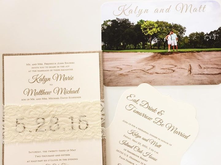 Tmx 1429213995791 K1 Palm Harbor, Florida wedding invitation