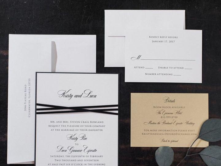 Tmx 1495748587551 Img4095 Palm Harbor, Florida wedding invitation