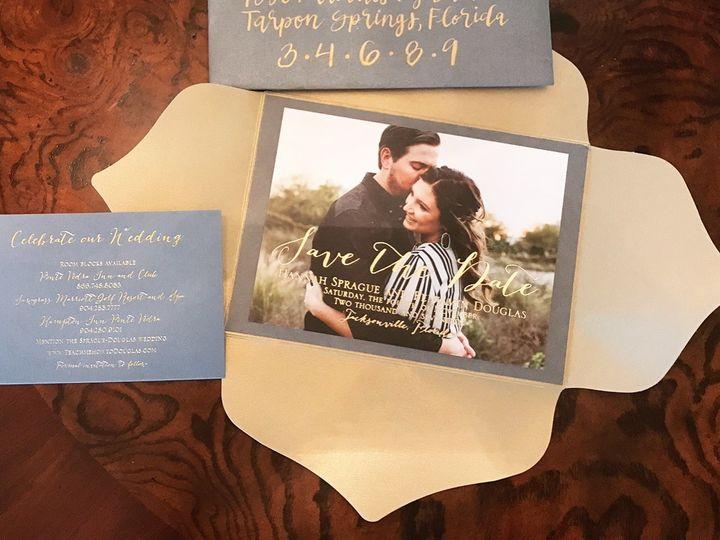 Tmx 1495748609350 Img5853 Palm Harbor, Florida wedding invitation