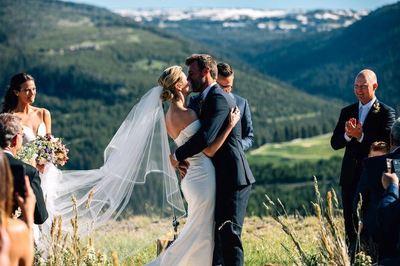 Beautiful Mountain Wedding