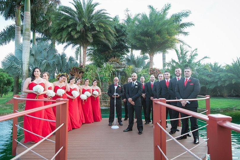 longans place red white wedding photography miami