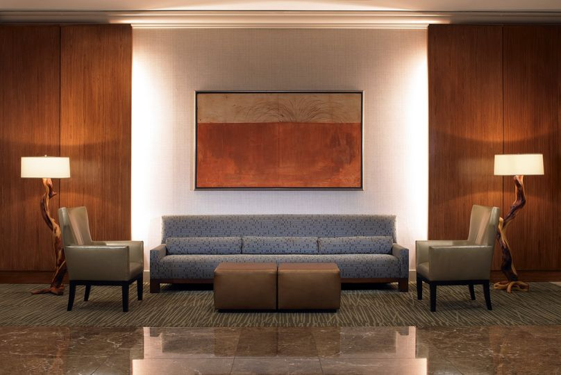 Foyer Seating Area : The westin los angeles airport venue ca