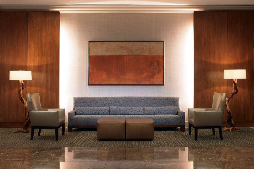 ballroom foyer seating area