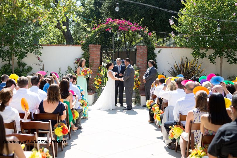 Courtyard ceremony