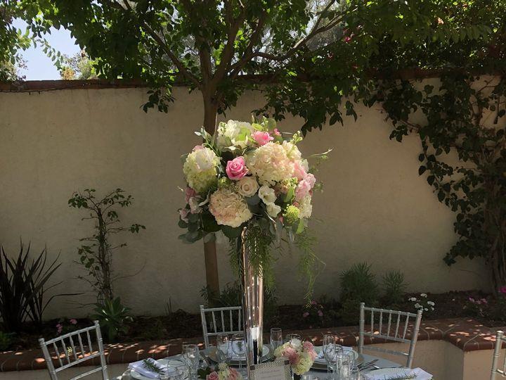 Tmx Silver Table Setup 51 709853 La Canada Flintridge, CA wedding venue