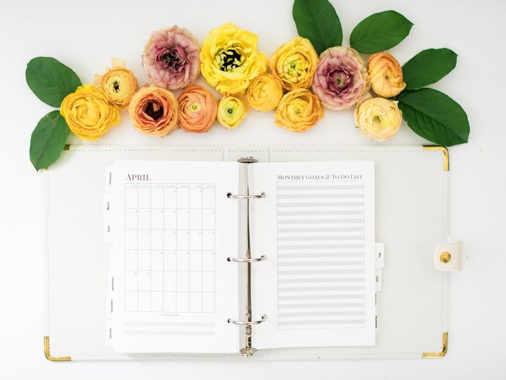 Bridal Boss Planner April