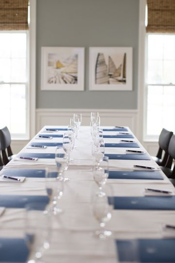 The Founders Room at The Quogue Club is the perfect location for your next company meeting or event.