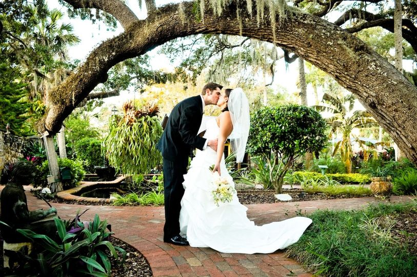 Our tree arch, one of many outdoor photo opportunity locations