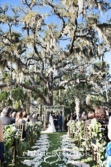 Oak Tree ceremony location