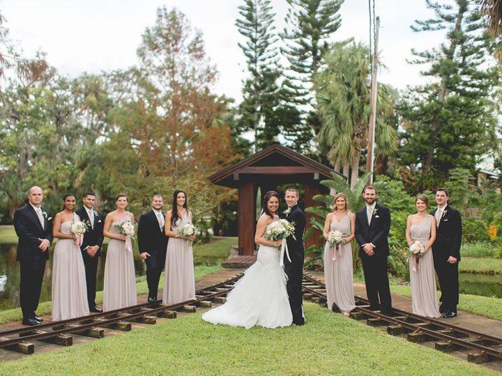 Tmx Bridal Party By Train Bridge 51 21953 Port Orange wedding venue
