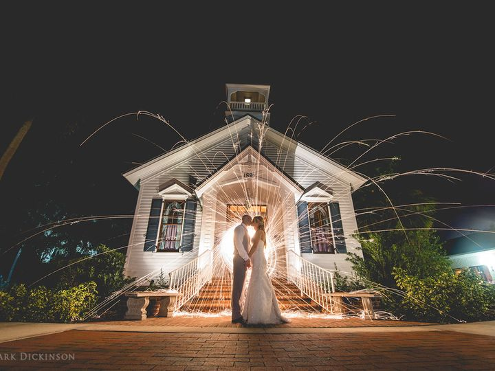 Tmx Chapel Night Sparklers 51 21953 Port Orange wedding venue