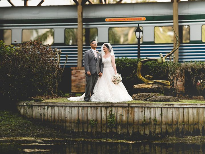 Tmx Couple By Train 51 21953 Port Orange wedding venue