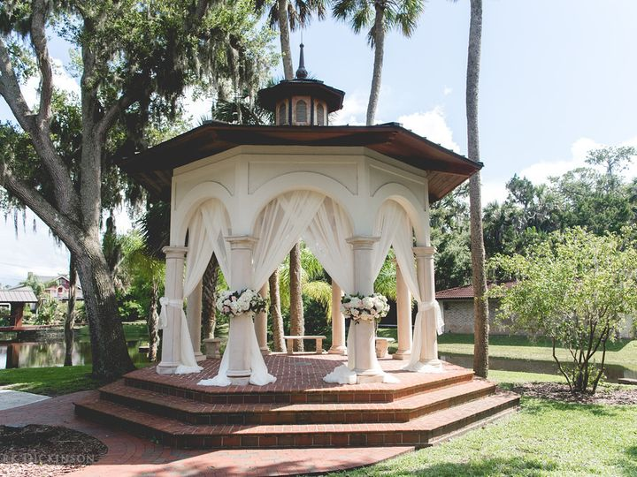 Tmx Gazebo Decorated 51 21953 Port Orange wedding venue