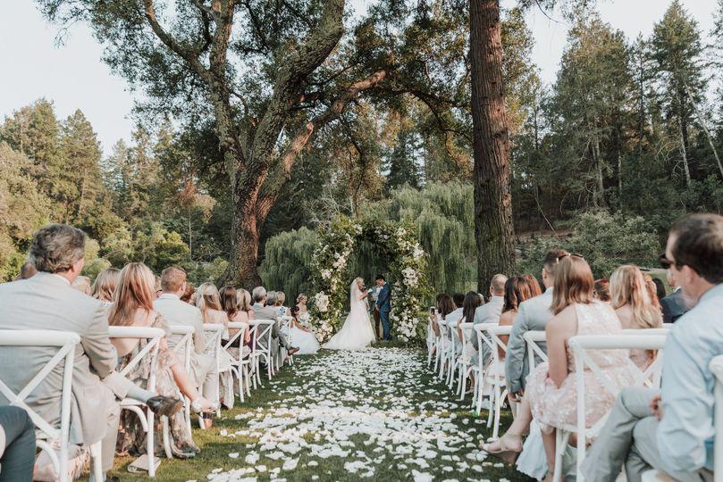 Gorgeous Outdoor Ceremony