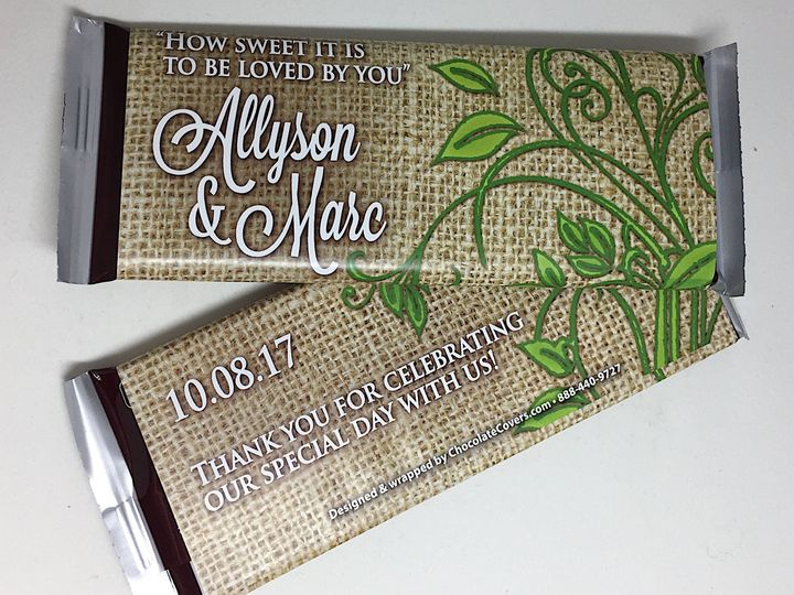 Tmx 1533326407 B0be1fed0d10d3cb 1533326403 E6e564392e70a4a5 1533326402854 1 Allyson And Marc 2 Hershey, PA wedding favor