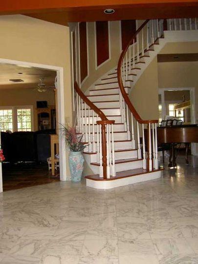 Scarlet O'Hara staircase
