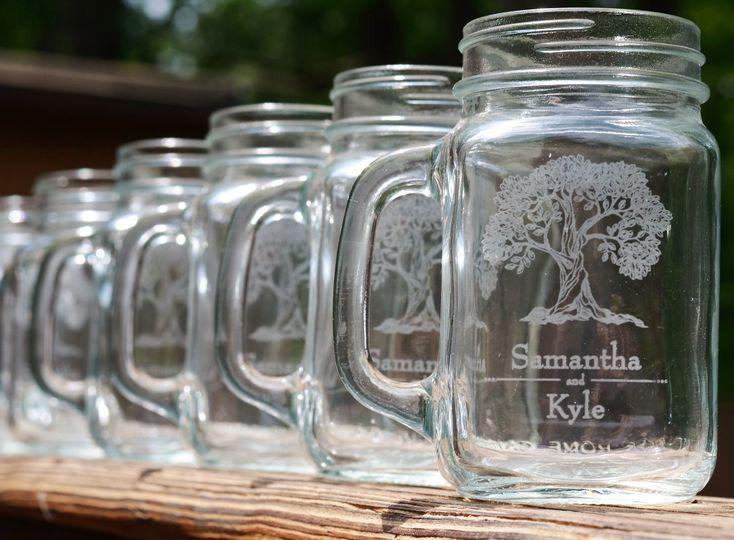 Samantha and Kyle mugs