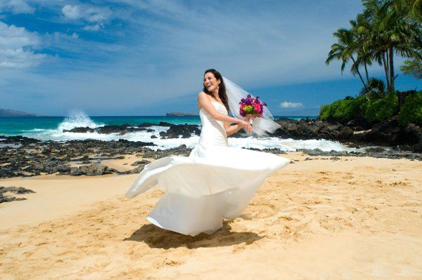 South Maui Beach Wedding