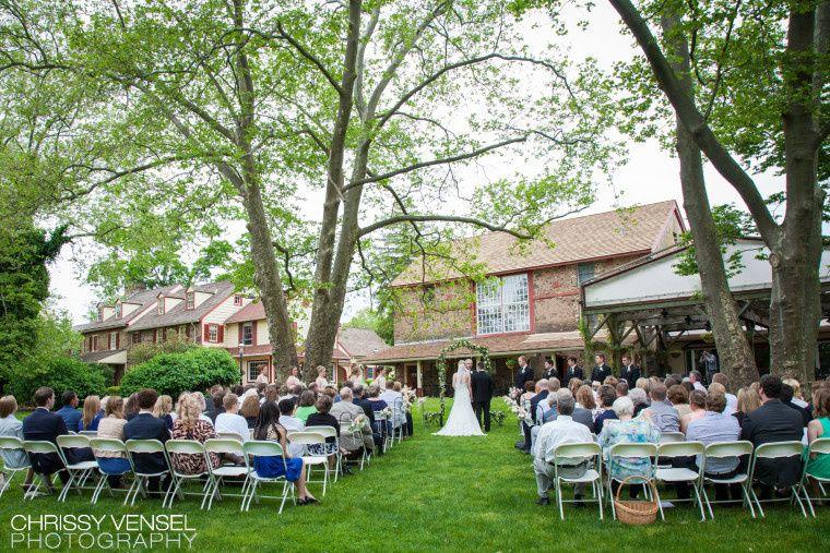Small Backyard Wedding Doylestown Pa Wedding Photography: Joseph Ambler Inn
