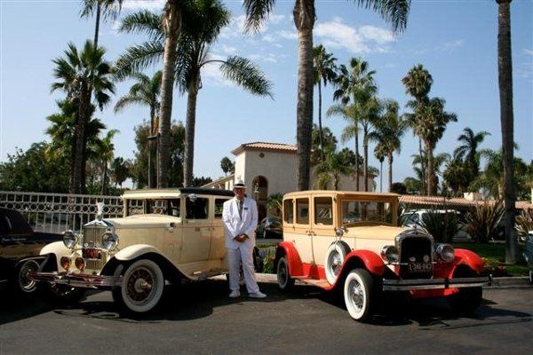 Photo shoot at the Mission bay Hilton with my 29 Durant & my 27 Star car.
