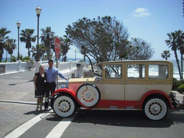 Carmen & Andrew from Germany with my 27 Star car at the Oceanside Pier 5/24/10 We had a blast doing...