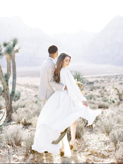 elopement wedding in california desert 01 51 755953 158409317723894