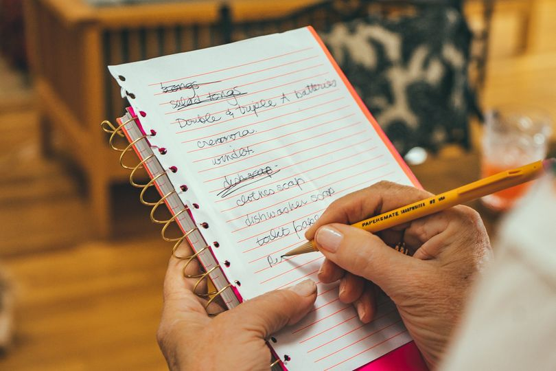 Checking off your to-do list