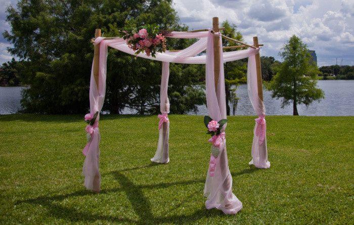 four post florida lake wedding orlando