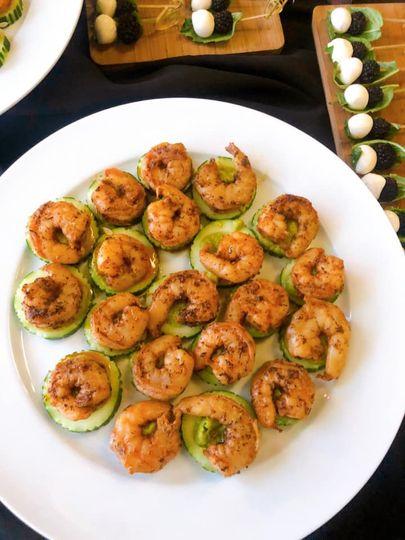 Guacamole & Blackened Shrimp